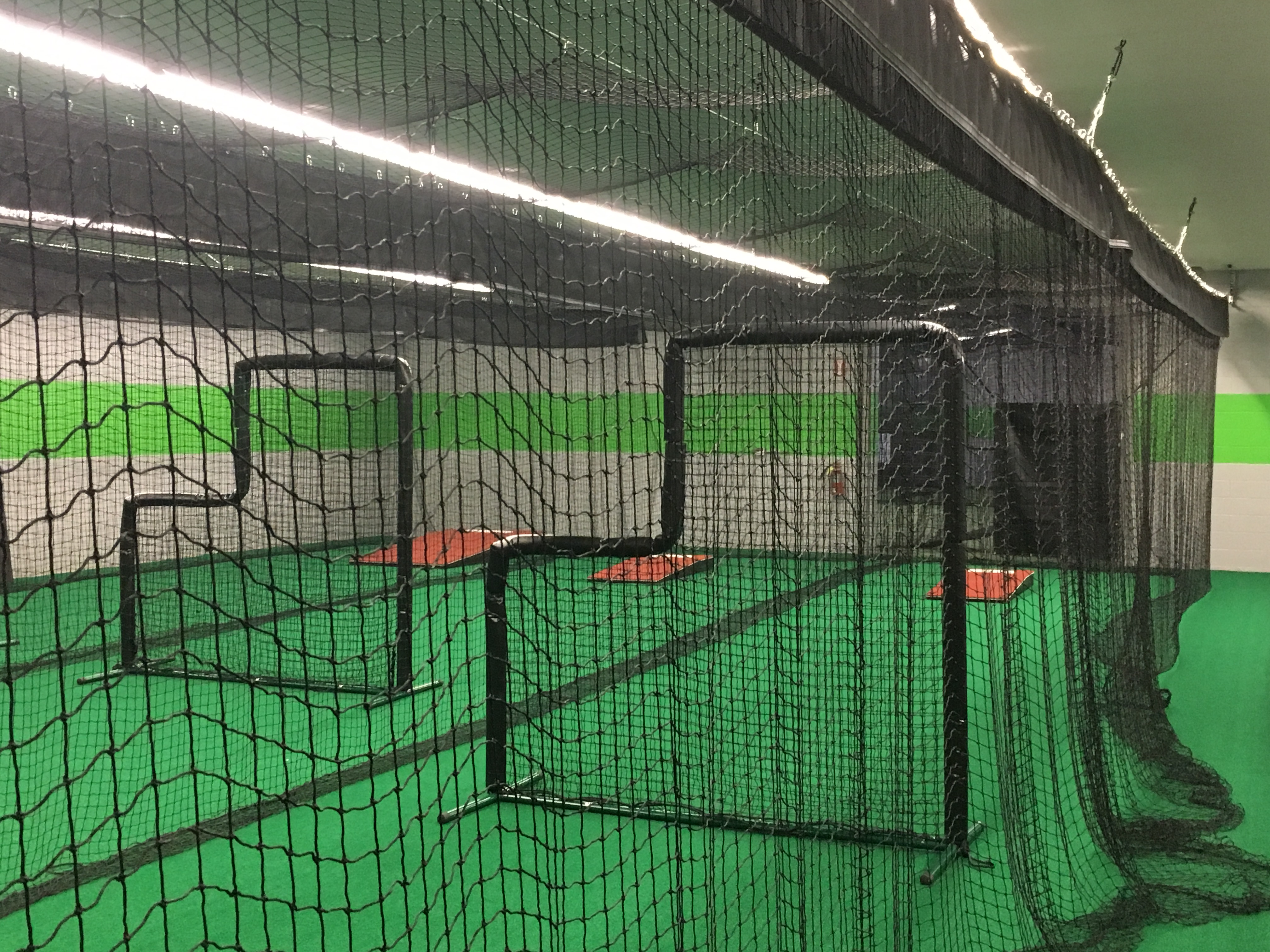 surge sports modern facility training athletes hitting turf tunnels equipped seven workout featuring areas needs clean meet equipment